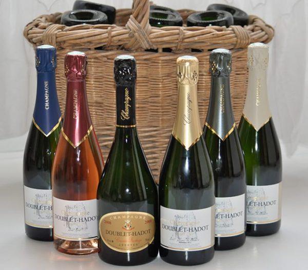 Coffret découverte champagne doublet hadot
